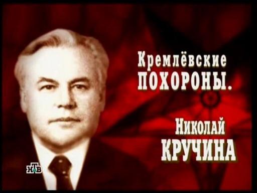 Кремлевские похороны. Николай Кручина
